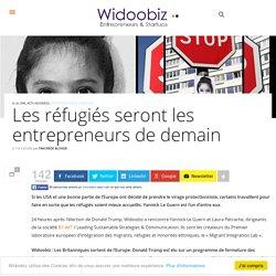 Les réfugiés seront les entrepreneurs de demain
