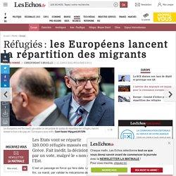 Réfugiés: les Européens lancent la répartition des migrants, Europe