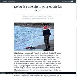 Réfugiés : une photo pour ouvrir les yeux