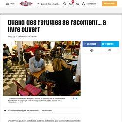 Quand des réfugiés se racontent... à livre ouvert