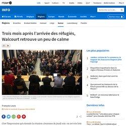 Trois mois après l'arrivée des réfugiés, Walcourt retrouve un peu de calme