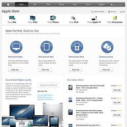 RefurbishedandClearance iPod, iPad, & Mac Products