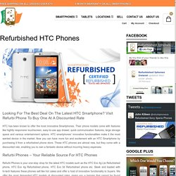 Refurbished HTC Phones