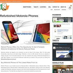 Refurbished motorola phones in ireland
