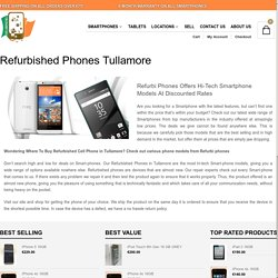 Best Place to buy refurbished phone