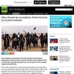 Elles refusent de se prostituer, Daesh les brule sur la place publique