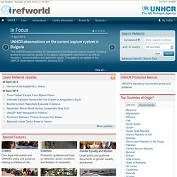 Refworld | The Leader in Refugee Decision Support