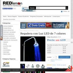 Regadera con Luz LED de 7 colores
