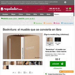 Regalador.com - Bookniture: el mueble que se convierte en libro