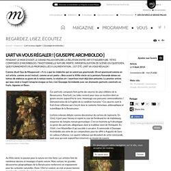 RMN - Grand Palais Hors-d'œuvre d'art [1] : Arcimboldo et ses « visages fruits »