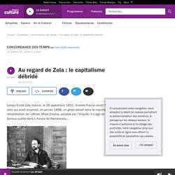 Au regard de Zola : le capitalisme débridé