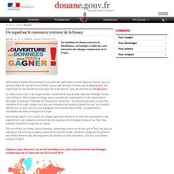 Un regard sur le commerce extérieur de la France