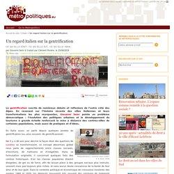 Un regard italien sur la gentrification