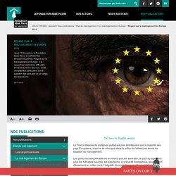 Regard sur le mal-logement en Europe 2015