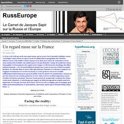 Un regard russe sur la France