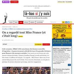 25 déc. 2020 On a regardé tout Miss France (et c'était long)