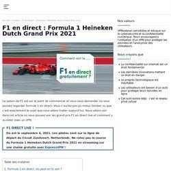 Regarder la Formule 1 en direct gratuitement !