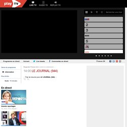 Regarder France 24 en direct sur internet