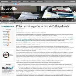 PISA : savoir regarder au delà de l'effet palmarès