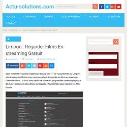 Limpod : Regarder Films En streaming Gratuit Illimité VF