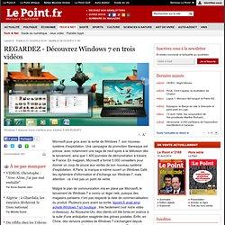 LOGICIEL : REGARDEZ - Windows 7 a pris son envol, Microsoft est
