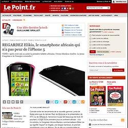 REGARDEZ Elikia, le smartphone africain qui n'a pas peur de l'iPhone 5