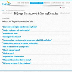 Know About Snoring Remedies