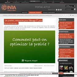 INRA 01/02/16 Les prairies, ressources pour l'élevage ET pour l'environnement
