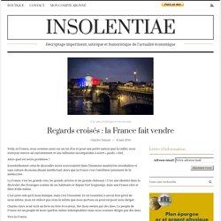 Regards croisés : la France fait vendre