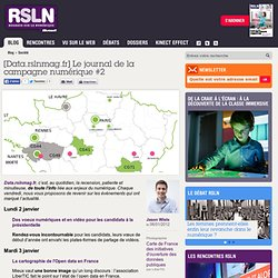 [Data.rslnmag.fr] Le journal de la campagne numérique #2