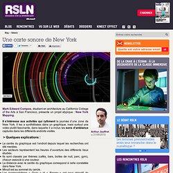 REGARDS SUR LE NUMERIQUE : Panorama - Une carte sonore de New York. RSLNmag est édité par Microsoft et se consacre à l'analyse et au décryptage du monde numérique.
