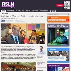 A Orléans, Vincent Peillon rend visite aux profs innovants
