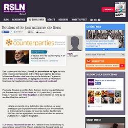 REGARDS SUR LE NUMERIQUE: Vu sur le Web - Reuters et le journalisme de liens RSLNmag est édité par Microsoft et se consacre à l'analyse et au décryptage du monde numérique..