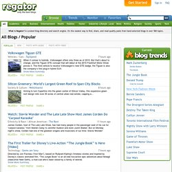 Read Top Rated Blog Posts at Regator.com