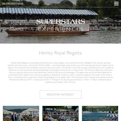 Henley Regatta Aboard the Windsor Belle, a stunning vintage steam laun at Superstars