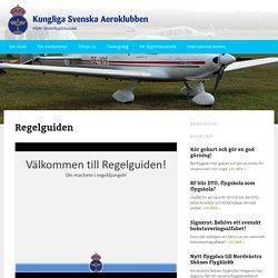 Regelguiden - KSAK/Motorflygförbundet