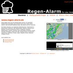 Regen-Alarm für das Web