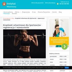 Kroplówki witaminowe dla Sportowców - regeneracja i wzmocnienie - Blog