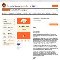 Extract: Regeneration: Popular Penguins