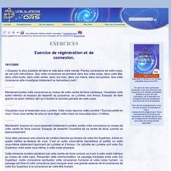 Exercice de régénération et de connexion
