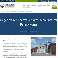 RTO Manufacturer Pennsylvania