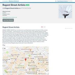 Regent Street Artists London