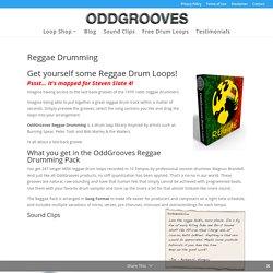Reggae Drum Loops - OddGrooves