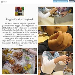 Reggio Children Inspired