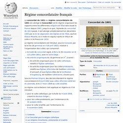 Régime concordataire français