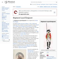 Régiment Loyal-Émigrant