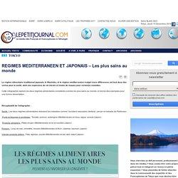 REGIMES MEDITERRANEEN ET JAPONAIS – Les plus sains au monde