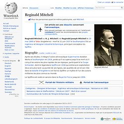Reginald Mitchell