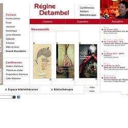 Detambel Régine - son site