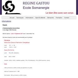 Régine Gastou - Ecole Somanergie